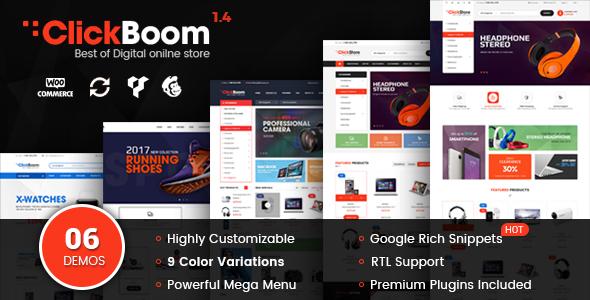 ClickBoom - WooCommerce WordPress Digital Store Theme - WooCommerce eCommerce