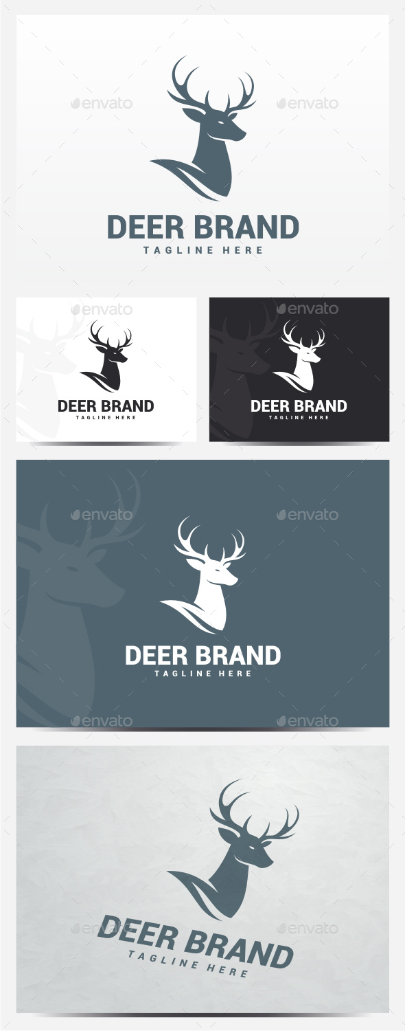Deer Logo - Animals Logo Templates