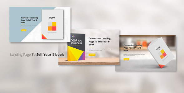 ProBook - Conversion Landing page - Marketing Corporate