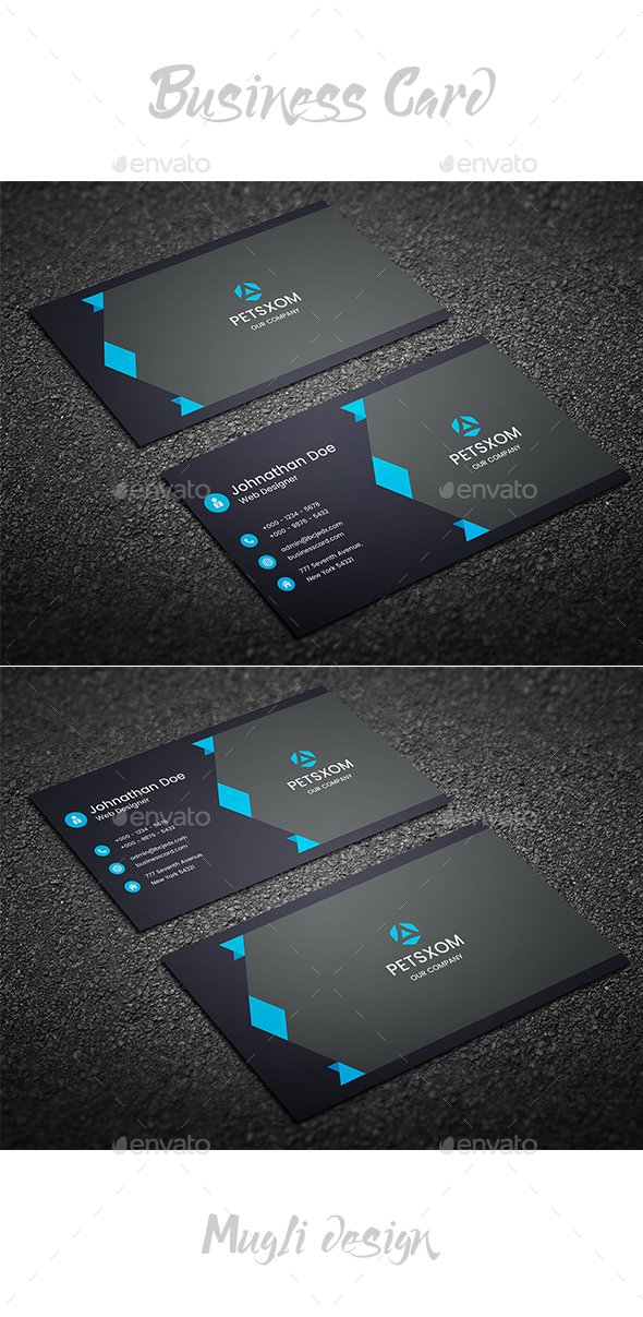 GraphicRiver Business Card Template 20439629