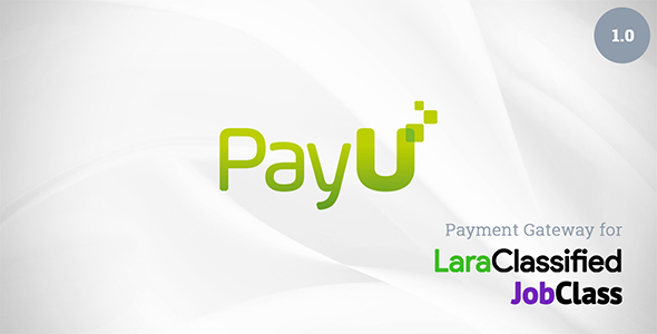 PayU Plugin for LaraClassified and JobClass (Add-ons)