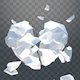 Isolated Broken Glass Heart - VideoHive Item for Sale