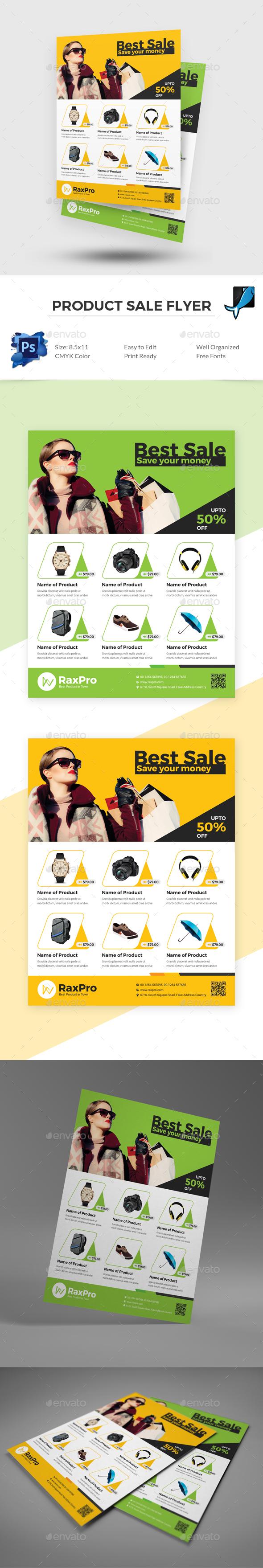Product Sale Flyer - Commerce Flyers