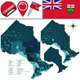 Divisions of Ontario Canada - GraphicRiver Item for Sale
