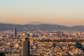 Barcelona cityscape at sunset overlook - PhotoDune Item for Sale