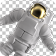Astronaut Isolated - VideoHive Item for Sale
