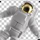 Astronaut Isolated