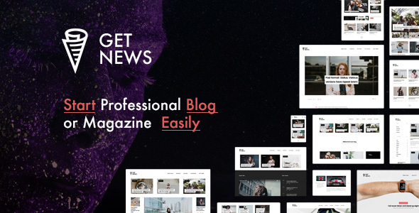 ThemeForest GetNews Blog & Magazine WordPress Theme 19447502