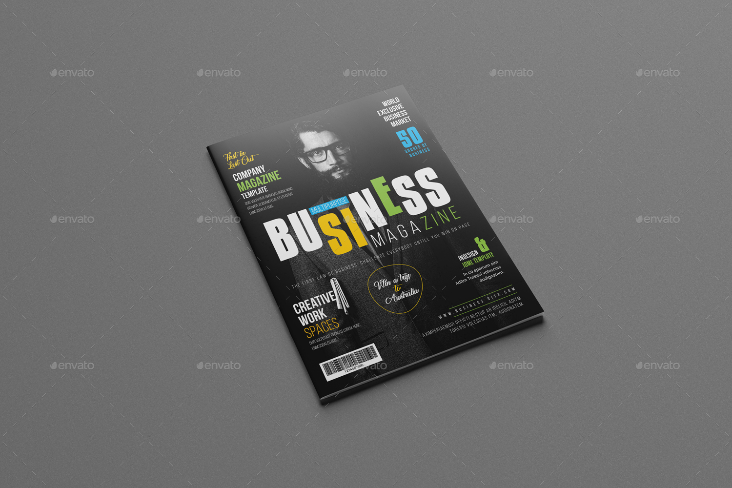 Businessmultipurpose magazine template by designsoul14 graphicriver businessmultipurpose magazine template magazines print templates preview image setpreview image01g accmission Image collections