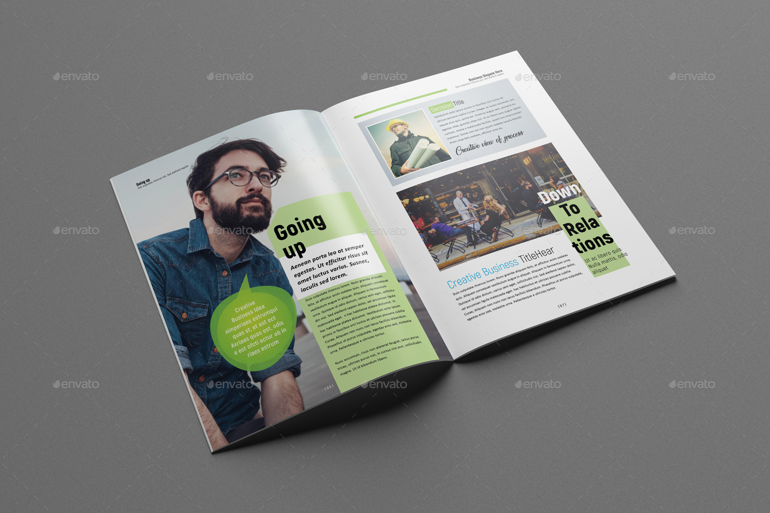 Businessmultipurpose magazine template by designsoul14 graphicriver businessmultipurpose magazine template cheaphphosting Gallery