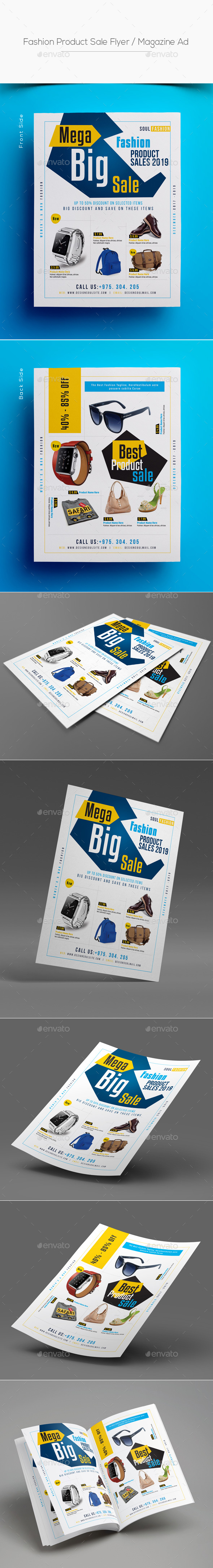 Fashion Product Sale Flyer / Magazine Ad - Corporate Flyers