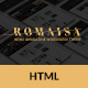 Romaisa HTML Magazine new blog