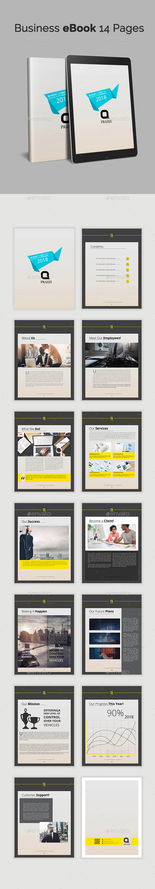 GraphicRiver Business eBook 14 Pages 20443057