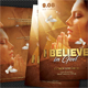 Believe In God Postcard - GraphicRiver Item for Sale