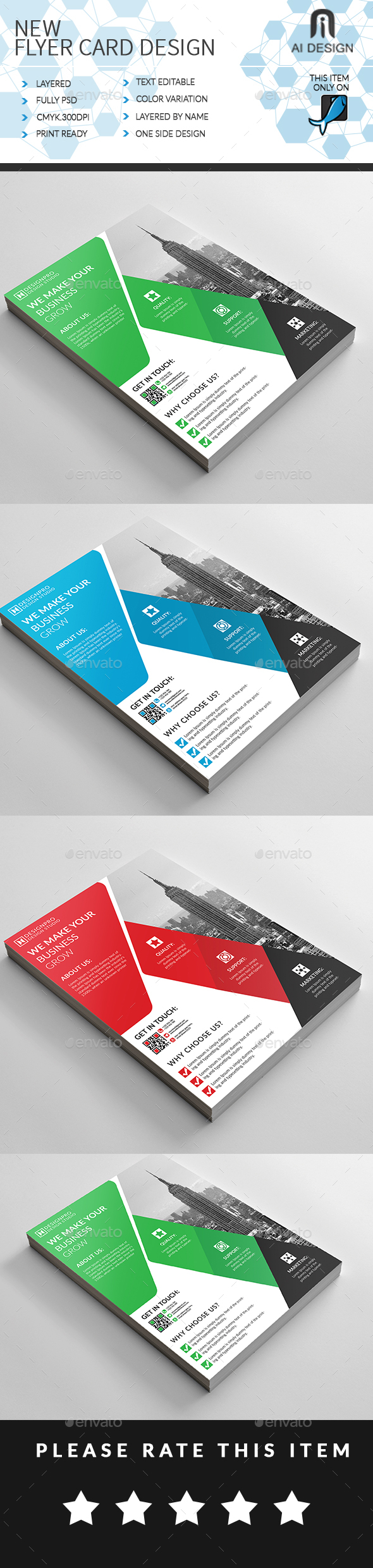 GraphicRiver Business Flyer 20443157