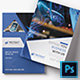 Corporate Bi-fold Brochure Template