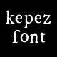 Kepez Font - GraphicRiver Item for Sale