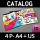 Toys Products Catalog Bi-Fold Brochure Template - GraphicRiver Item for Sale