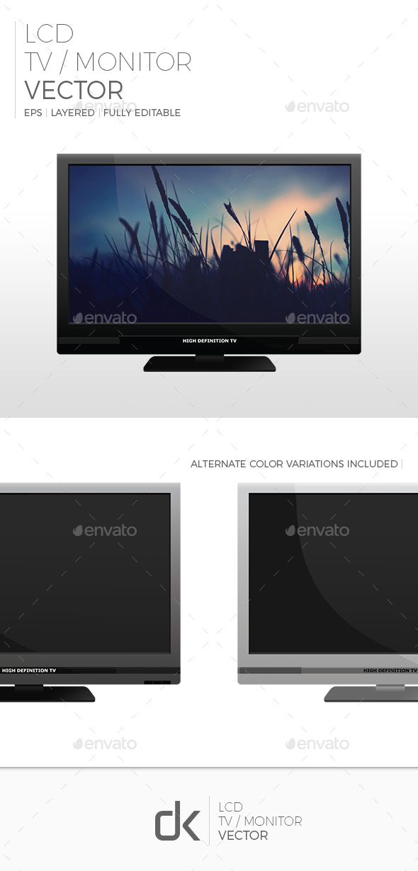 LCD TV (3-Pack) - Computers Technology