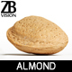 Almond 002 - 3DOcean Item for Sale