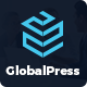 Global Press - Finance Company PSD Template