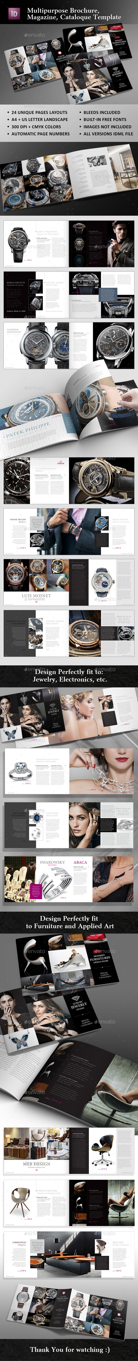 Multipurpose Cataloque Template - Catalogs Brochures