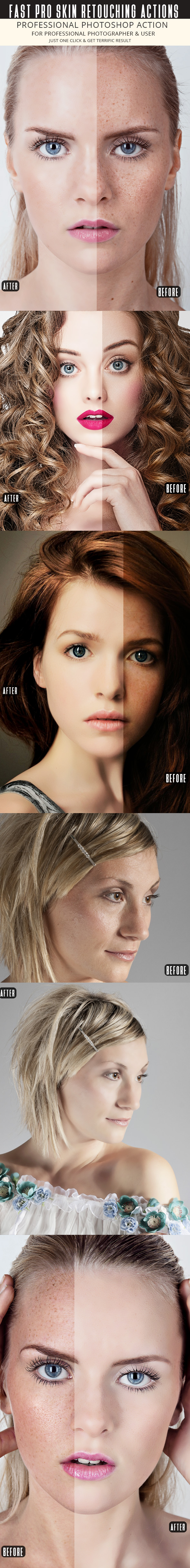 GraphicRiver Fast Skin Retouching Actions 20443755
