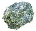 specimen of serpentine stone isolated