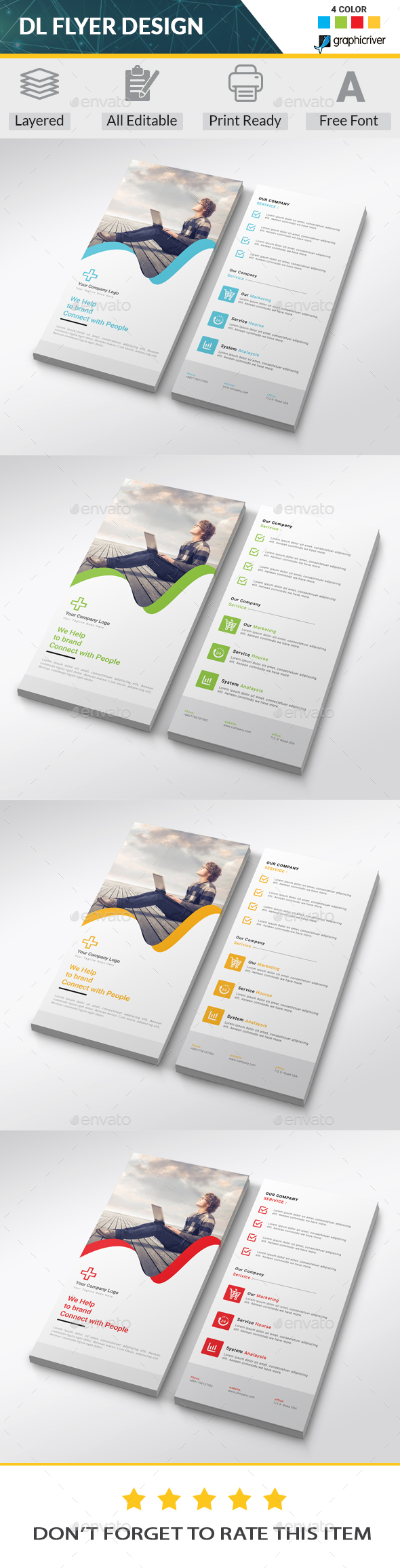 GraphicRiver Dl Flyer 20443816
