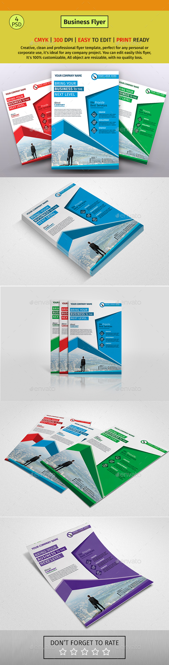 A4 Corporate Business Flyer #137 - Corporate Flyers