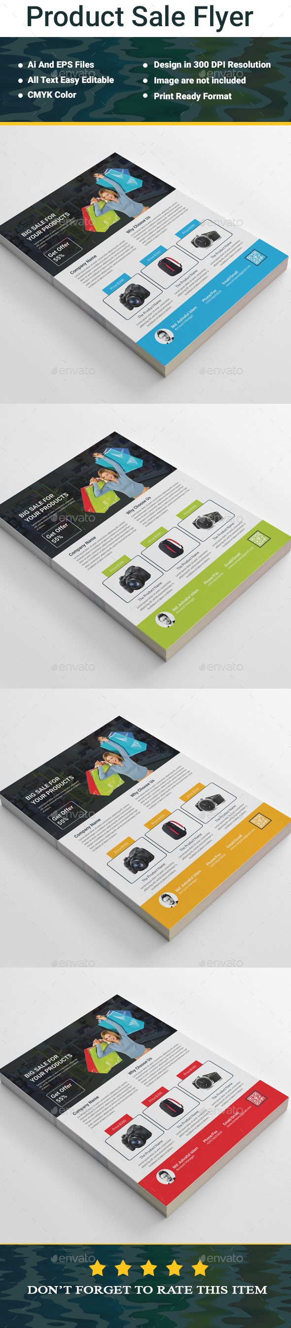 GraphicRiver Product Sale Flyer 20444452