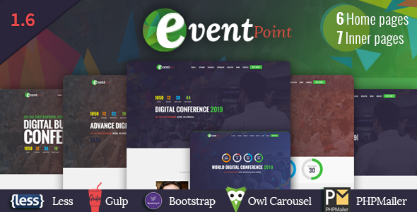 Event Point - Event, Conference & Meetup HTML5 Template - Events Entertainment
