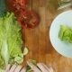 Preparing Salad Dish - VideoHive Item for Sale