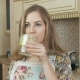 Girl Drinking Fresh Homemade Fruit Smoothie - VideoHive Item for Sale