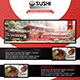Asian Restaurant Flyer Template - GraphicRiver Item for Sale
