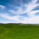 Green Agricultural Field Farm Blue Skies Country - PhotoDune Item for Sale