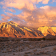 Alabama Hills Sunset Sierra Nevada Range California Mountains - PhotoDune Item for Sale