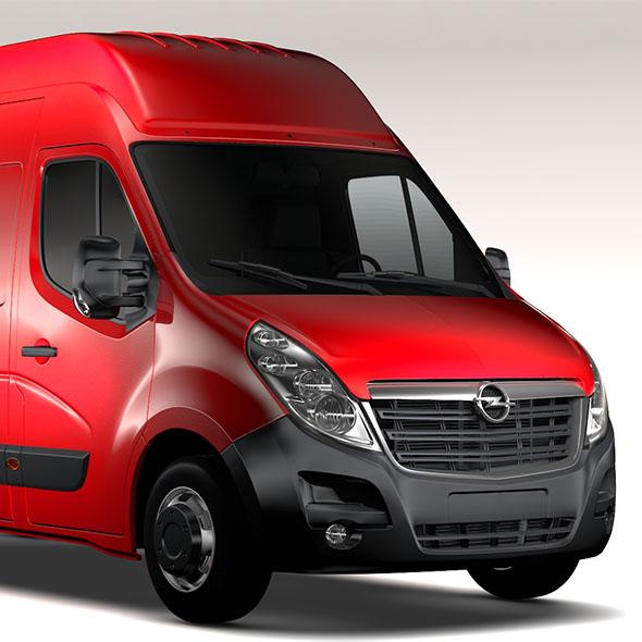 Opel Movano L3H3 Van 2016 - 3DOcean Item for Sale