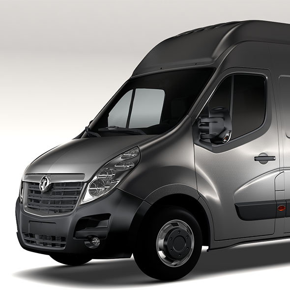 Vauxhall Movano L3H3 Van 2016 - 3DOcean Item for Sale