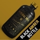 Black Amber Bottle - GraphicRiver Item for Sale
