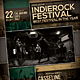 Indie Rock Festival Flyer / Poster