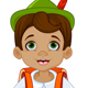 Pinocchio Going to School - GraphicRiver Item for Sale