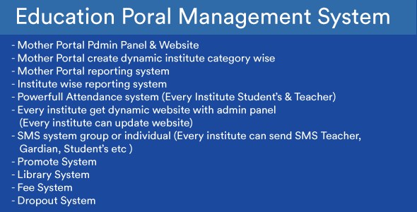 The Next Gen Education Portal Management Software + Institute ERP solution