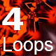 VJ Loops - RedHot Light - VideoHive Item for Sale