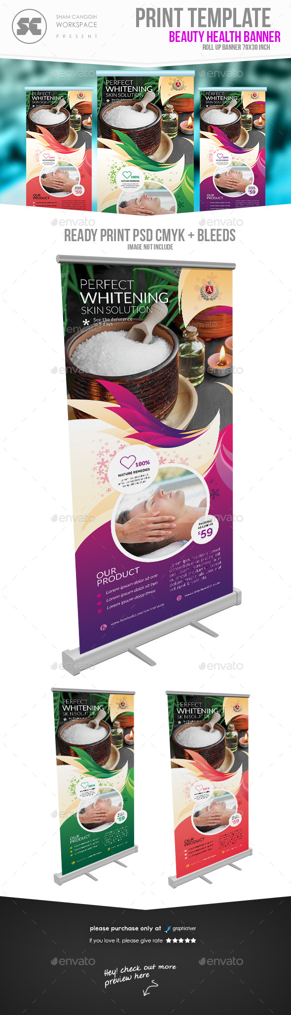 GraphicRiver Beauty & Health Banner 20446235