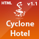 Cyclone Hotel - Responsive Hotel Template