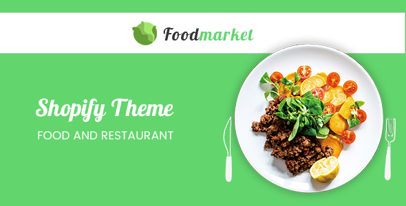 Image of Foodmarket - Responsive Shopify Theme