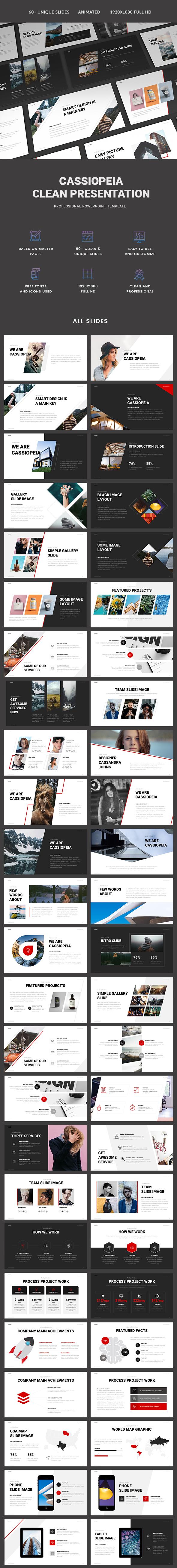 Cassiopeia Presentation - PowerPoint Templates Presentation Templates