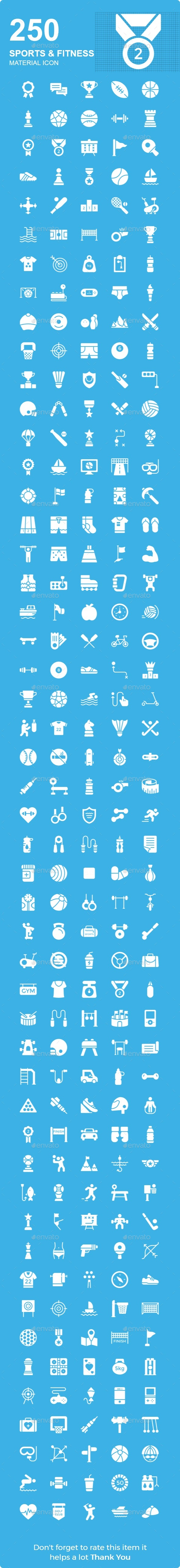Sports and Fitness Material icon - Icons