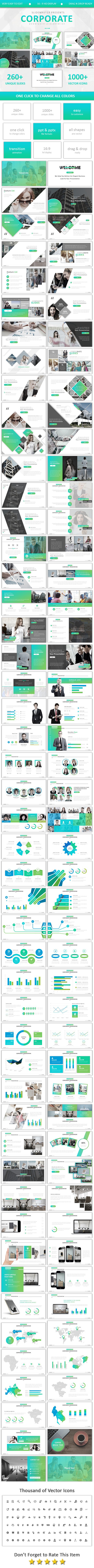 Corporate Powerpoint - Business PowerPoint Templates